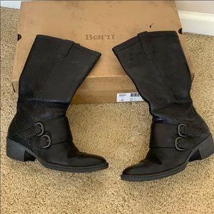 Born Magda Boots - Black Size 8